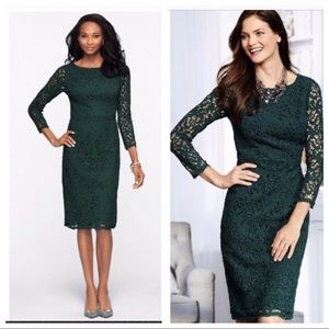 Talbots Lace Sheath Dress